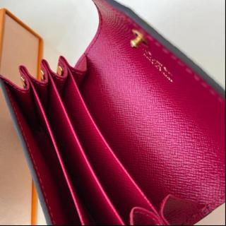 LOUIS VUITTON - 極美品 正規品ルイヴィトン カードケース フューシャ