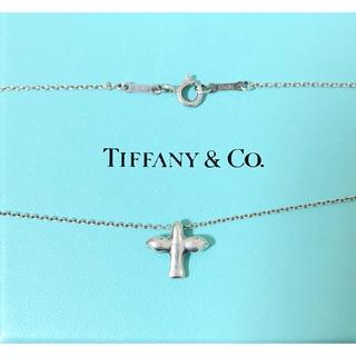 Tiffany & Co. - ティファニー TIFFANY&Co   バードクロス ネックレス