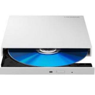 アイオーデータ(IODATA)のI-O DATA BRP-UT6LEK ポータブルブルーレイドライブ ホワイト(PC周辺機器)