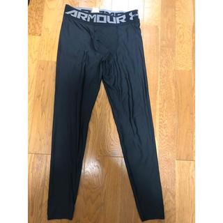 アンダーアーマー(UNDER ARMOUR)の【一部破れあり】アンダーアーマー レギンス XL 黒(ランニング/ジョギング)