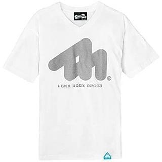 ニンテンドウ(任天堂)の新品 スプラトゥーン Splatoon2 イカホワイトV Tシャツ L(Tシャツ/カットソー(半袖/袖なし))