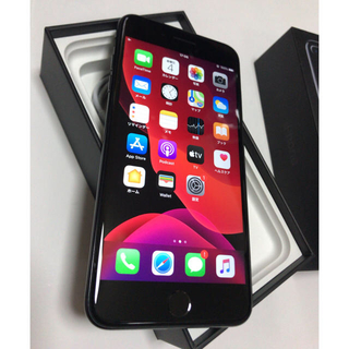 iPhone - 美品 iPhone7Plus 256GB 国内版SIMフリージェットブラック