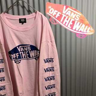 ヴァンズ(VANS)のレアカラー vans 袖プリント tシャツ ロングスリーブ(Tシャツ/カットソー(七分/長袖))