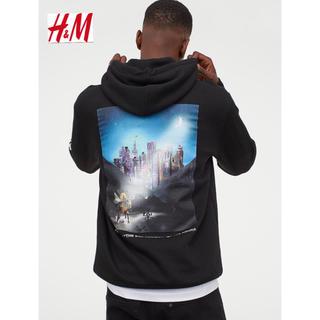 エイチアンドエム(H&M)の新品 安値 H&M × リルナスX コラボ パーカー M(パーカー)