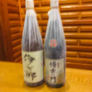 志村けんさんの愛した 伊七郎 侍士の門 芋焼酎 1800cc 新品(焼酎)
