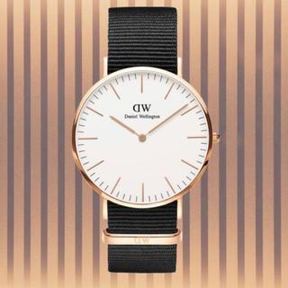 ダニエルウェリントン(Daniel Wellington)の安心保証付き【40㎜】ダニエルウエリントン 腕時計〈DW00100257〉(腕時計(アナログ))