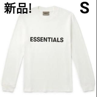 FEAR OF GOD - 【新品!Sサイズ】FOG essentials ロンT ホワイト