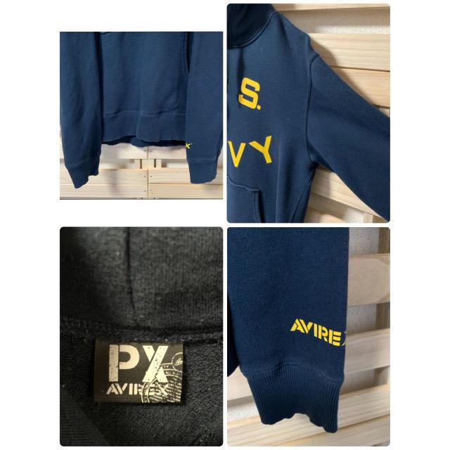 AVIREX(アヴィレックス)のAVIREXアヴィレックス★U.S NAVY プルオーバー パーカー メンズのトップス(パーカー)の商品写真