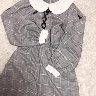 アンクルージュ(Ank Rouge)の量産型 ワンピース 丸襟(ミニワンピース)