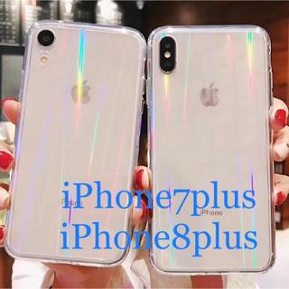 iPhone7plus iPhone8plus スマホケース クリアケース