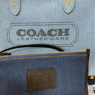 COACH - 25日迄お値下中COACH デニム トートバッグ ハンドバッグ ショルダーバッグ