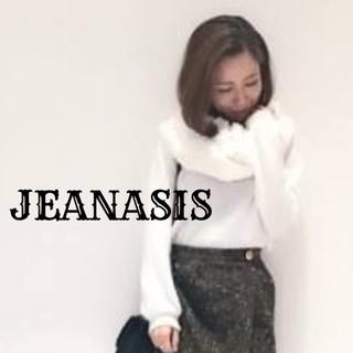 ジーナシス(JEANASIS)の値下げ◆新品JEANASIS スヌード(スヌード)
