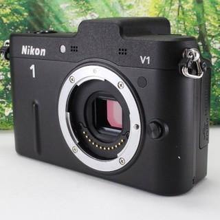 Nikon - Nikon ミラーレス一眼カメラ Nikon 1  V1 ボディ ブラック