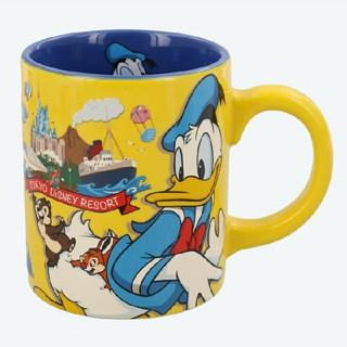 Disney - 東京ディズニーリゾート限定品 10月21日発売 マグカップ ドナルド チョコクラ