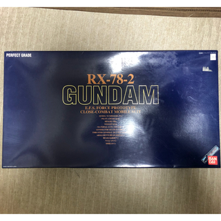 BANDAI - PG 1/60 RX-78-2 ガンダム