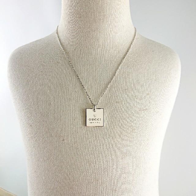 Gucci(グッチ)のGUCCI グッチ ネックレス レディースのアクセサリー(ネックレス)の商品写真