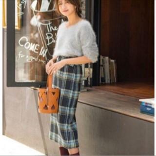 マイストラーダ(Mystrada)の新品未使用♡マイストラーダ♡チェックタイトスカート(ロングスカート)