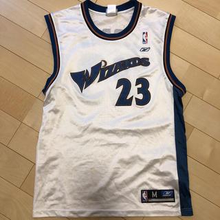リーボック(Reebok)のNBA ゲームシャツ ユニフォーム ウィザーズ マイケル ジョーダン(バスケットボール)