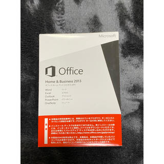 マイクロソフト(Microsoft)のOffice Home &Business 2013(PC周辺機器)