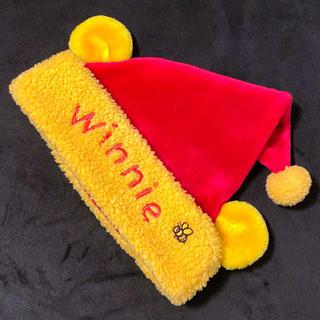 Disney - Disney Paris ♡ プーさん クリスマス ファンキャップ 帽子