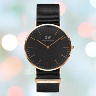 ダニエルウェリントン(Daniel Wellington)の保証付き【36㎜】ダニエルウエリントン 腕時計〈DW00100150〉(腕時計(アナログ))