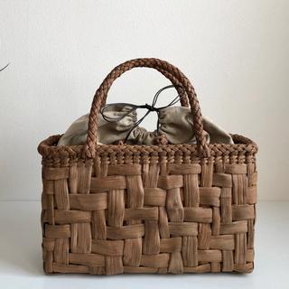 山葡萄かごバッグ 太網代編み