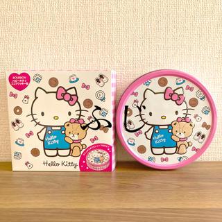 ハローキティ(ハローキティ)の「美品」ハローキティのクッキー缶(ピンク)(その他)