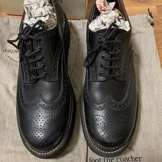 フットザコーチャー(foot the coacher)のfoot the coacher ウィングチップ ブーツ(ブーツ)