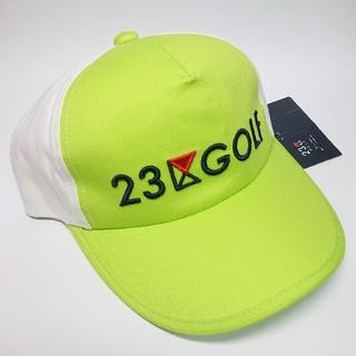 ニジュウサンク(23区)の【新品タグ付き】23区ゴルフ 帽子/キャップ(ウエア)