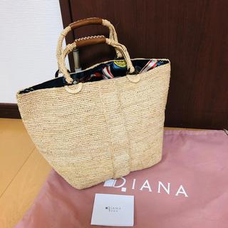 ダイアナ(DIANA)の【新品】DIANA ダイナア かごバッグ(かごバッグ/ストローバッグ)