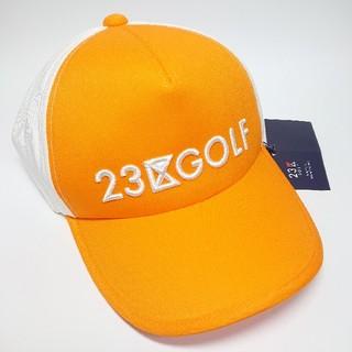 ニジュウサンク(23区)の【新品タグ付き】23区ゴルフ ゴルフキャップ/帽子(ウエア)