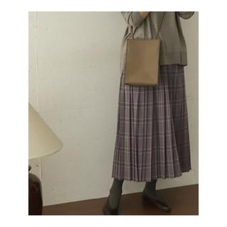 ドアーズ(DOORS / URBAN RESEARCH)のURBAN RESEARCH DOORSチェックプリーツスカート(ロングスカート)