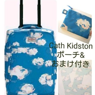 Cath Kidston - キャスキッドソン 新品 キャリーバッグ&ポーチ 雲柄