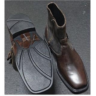 ロックポート(ROCKPORT)のROCKPORT ブーツ 茶 26cm(ブーツ)
