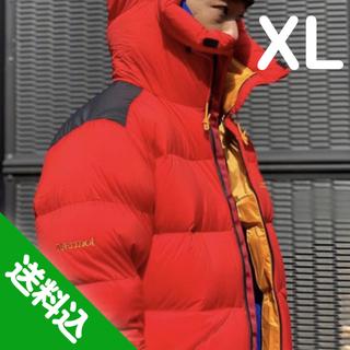 マーモット(MARMOT)の【XL】MARMOT Parbat Parka パルバットパーカー 赤(ダウンジャケット)