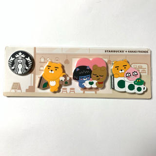 Starbucks Coffee - 韓国 スタバ カカオフレンズ マグネット 非売品 ノベルティ