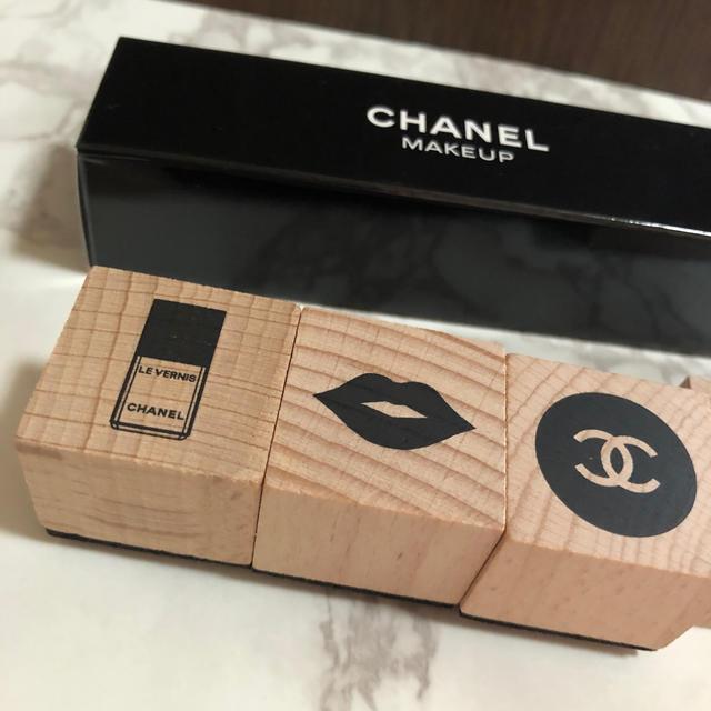 CHANEL(シャネル)の【新品未使用/非売品】シャネル スタンプ セット エンタメ/ホビーのコレクション(ノベルティグッズ)の商品写真
