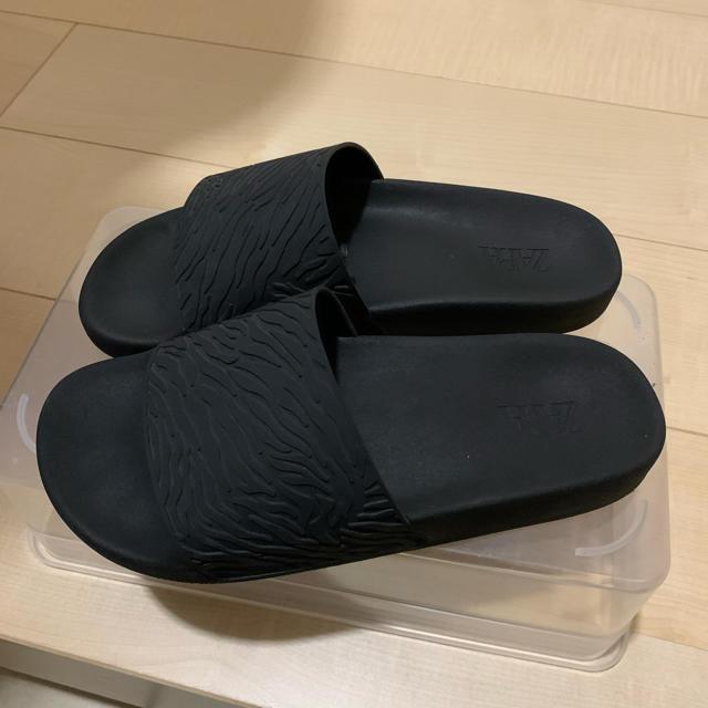 ZARA(ザラ)のZARA ザラ サンダル ブラック レディースの靴/シューズ(サンダル)の商品写真