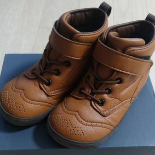ミキハウス(mikihouse)の美品☆MIKI HOUSEブーツ18㎝(ブーツ)
