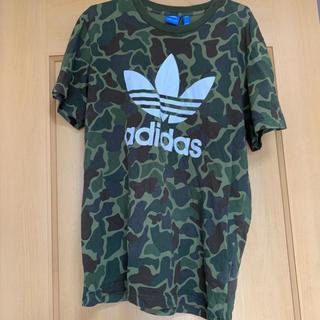 adidas - 迷彩柄 adidas Tシャツ