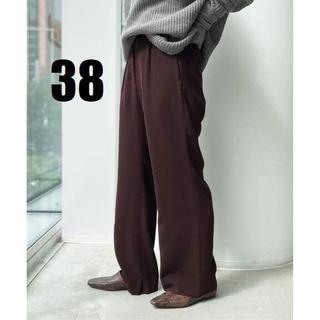 L'Appartement DEUXIEME CLASSE - 新品【GOOD GRIEF/グッドグリーフ】Wide Pants ボルドー 38