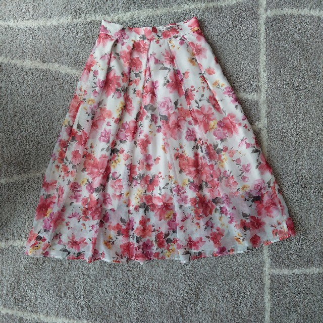 31 Sons de mode(トランテアンソンドゥモード)の31sonsdemode  トランテアンソンドゥモード フレアスカート レディースのスカート(ひざ丈スカート)の商品写真