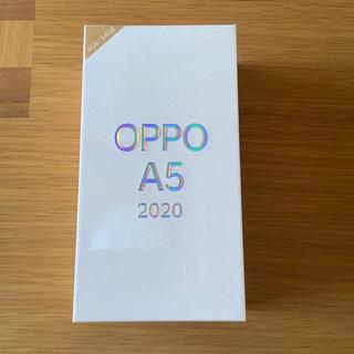 Rakuten - OPPO A5 2020 未開封 ブルー SIMフリー 楽天版