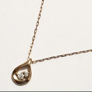 4℃ - 4°C ネックレス ダイヤモンド ヨンドシー ペンダント k10 10金
