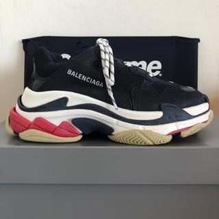 Balenciaga - Balenciaga Triple-S Noir ノアール トリプルS 26.5