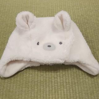 familiar - familiar ベビー帽子 くま
