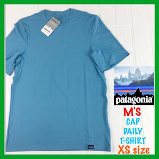 patagonia - 新品 Patagonia メンズ 半袖 無地 CAP DAILY T-SHIRT