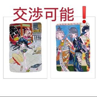 タカノ綾 版画 2枚セット(版画)