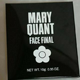 マリークワント(MARY QUANT)のマリークヮント フェイスファイナル(フェイスパウダー)