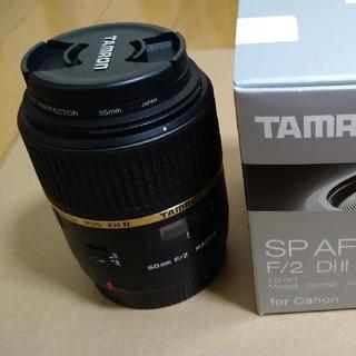 TAMRON - タムロン SP AF60mm F/2 Dill MACRO 1:1 キャノン用